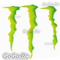 1 Pcs Monster Energy Drink Logo Sticker Decal Car Bumper 175mmx198mm - CSM00620