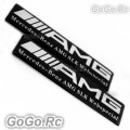 2 Pcs AMG Badge Decal Sticker W204 E320 C63 E55 K5-60001A